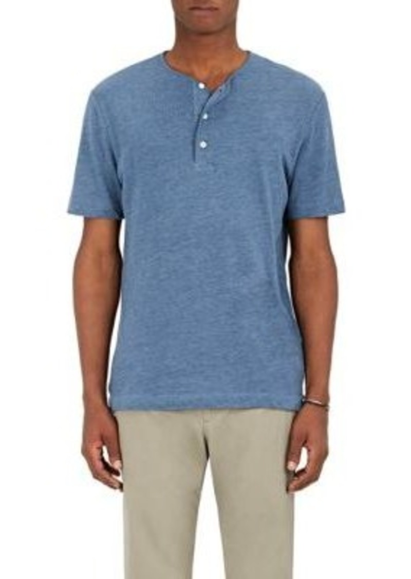 Theory Theory Men 39 S Bound Cotton Blend Henley Casual