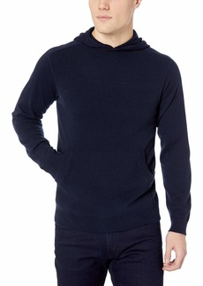 Theory Men's Cashmere Pull Over Hoodie  L