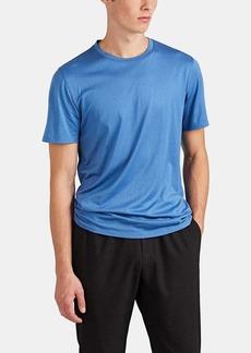 Theory Men's Claey-Plaito Silk-Cotton Crewneck T-Shirt
