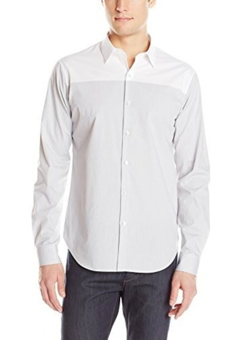 Theory Theory Men 39 S Costo Scape Long Sleeve Shirt Casual
