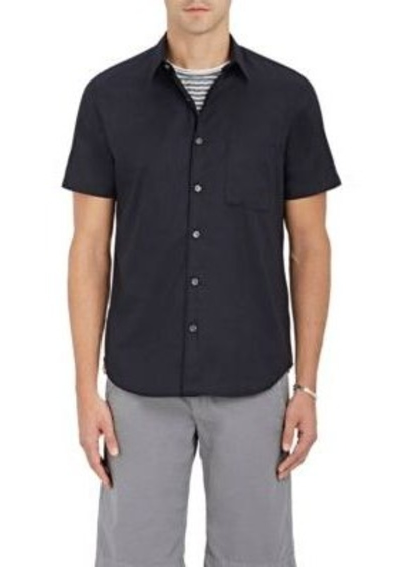 Theory Theory Men 39 S Cotton Oxford Cloth Button Front Shirt