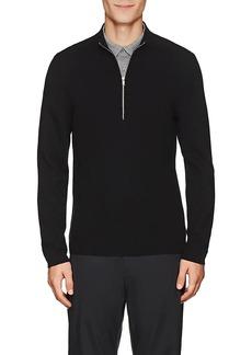 Theory Men's Detroe Merino Wool Half-Zip Sweater