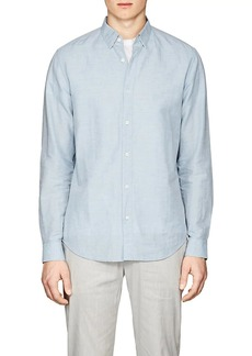 Theory Men's Edward Linen-Cotton Shirt