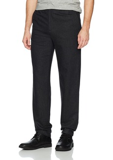 Theory Men's Flannel Drawstring Suit Pant