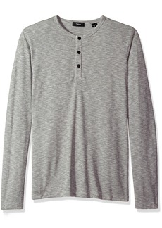 Theory Men's Front Snap Henley  M