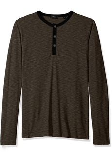 Theory Men's Front Snap Henley  XL