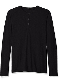 Theory Men's Front Snap Henley  XS