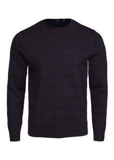Theory Men's Gregson Merino Wool Sweater  Blue