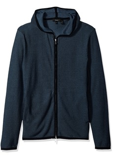 Theory Men's Grimaud Hooded Breach Sweater  S