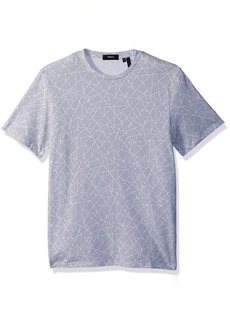 Theory Men's Halftone Jersey Clean Tee  L