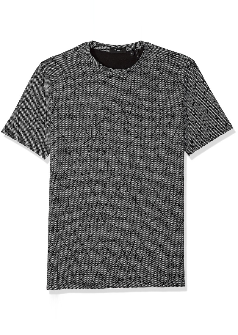 Theory Men's Halftone Jersey Clean Tee  XS