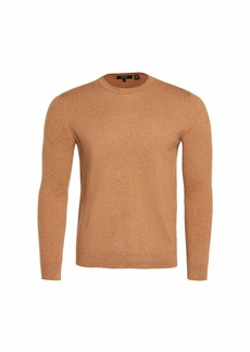 Theory Men's Hilles Cashmere Crew Neck Sweater  Tan