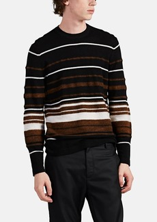 Theory Men's Hilles Striped Cashmere Sweater