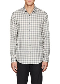 Theory Men's Irving Checked Flannel Shirt