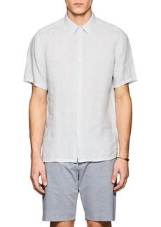 Theory Men's Irving Slub Linen Shirt