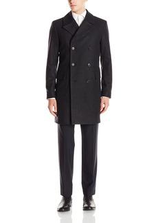 Theory Men's Kenri Voedar Double Breasted Wool Coat