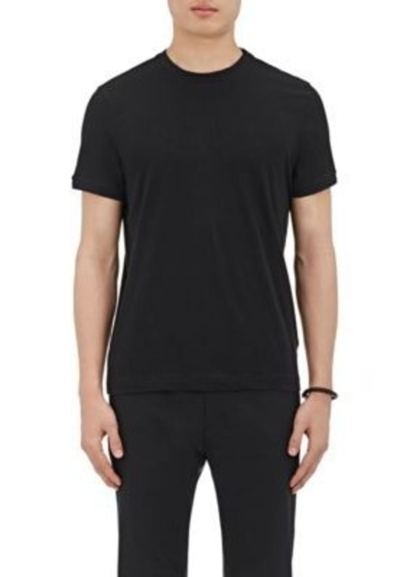 Theory Theory Men 39 S Knit Trimmed Cotton T Shirt Casual