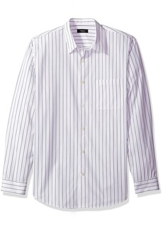 Theory Men's Long Sleeve Pinstripe Woven  L