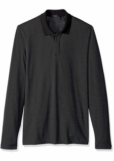 Theory Men's Long Sleeve Polo Shirt  L