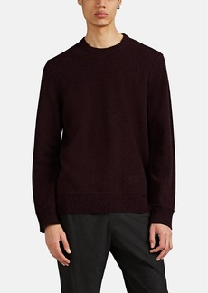 Theory Men's Marled Cashmere Crewneck Sweater
