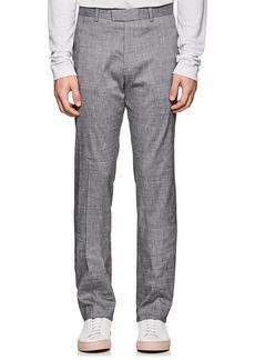 Theory Men's Mayer Slub Linen-Blend Trousers