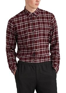 Theory Men's Menlo Plaid Cotton Flannel Shirt