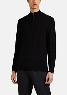 Theory Men's Merino Wool Quarter-Zip Sweater
