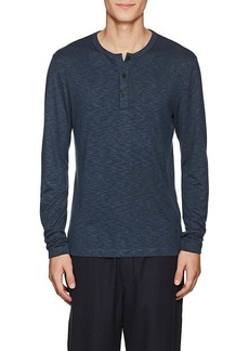 Theory Men's Mélange Jersey Henley