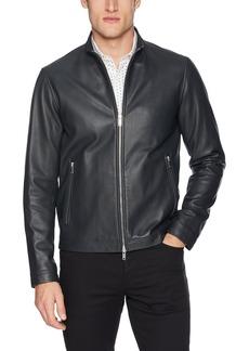 Theory Men's Morvek Leather Jacket  M