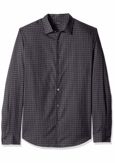 Theory Men's Murrary Flannel Long Sleeve Woven  M