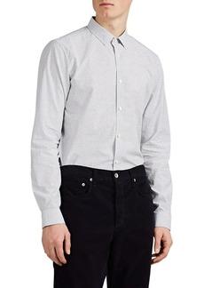 Theory Men's Murray Textured Cotton Shirt