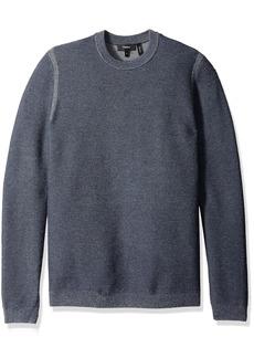 Theory Men's Orben Bilen Crew Neck Sweater Victory Multi/TRE