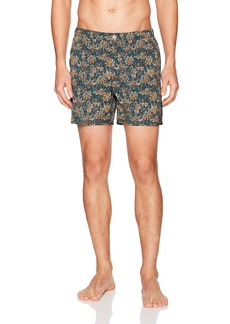 Theory Men's Palm Printed Bathing Suit  XL