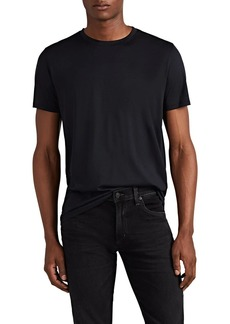 Theory Men's Plaito Silk-Cotton T-Shirt