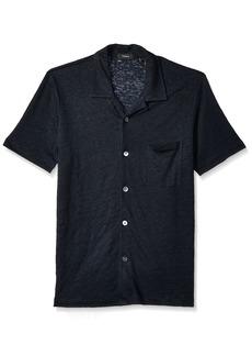 Theory Men's Pocket Knit Shirt  L