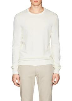Theory Men's Riland Piqué-Knit Cotton Sweater