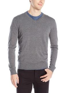 e6e8e64d Theory Men's Riland V New Sovereign Pullover V-Neck Sweater