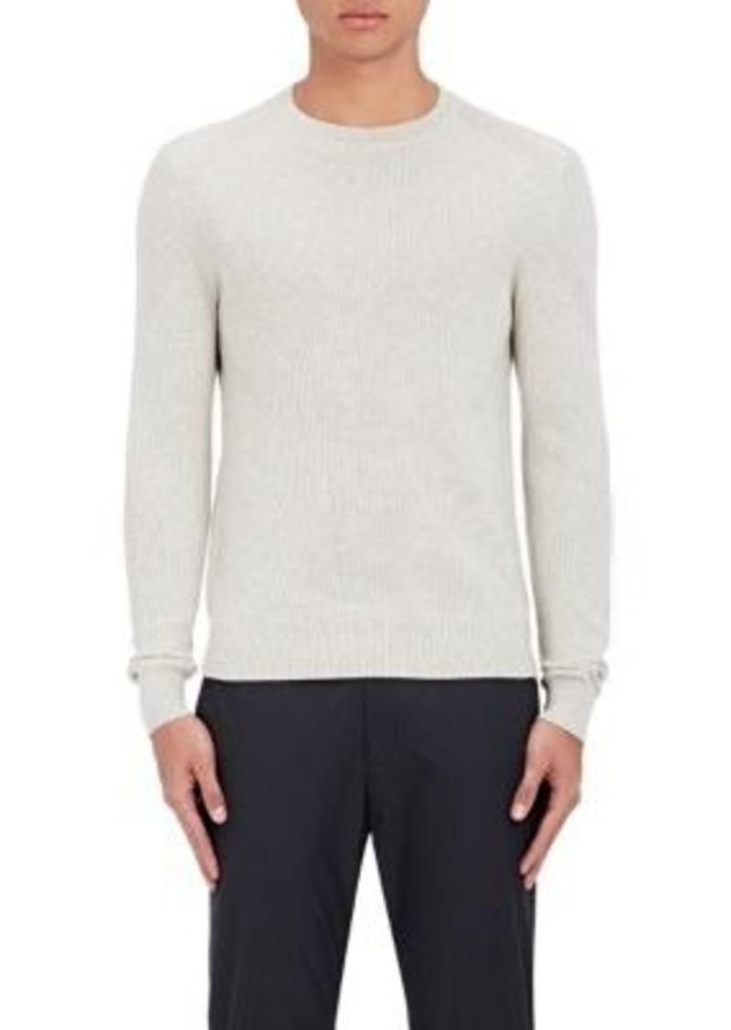 Theory Men's Ronzons Merino Wool Sweater-Grey Size XL