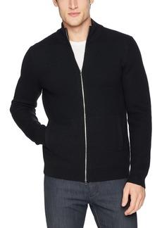 Theory Men's Rovira Full Zip Wool Sweater  M