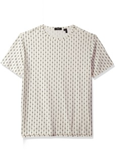 Theory Men's Short Sleeve Printed Tee  XXL