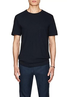 Theory Men's Slub Cotton-Linen T-Shirt