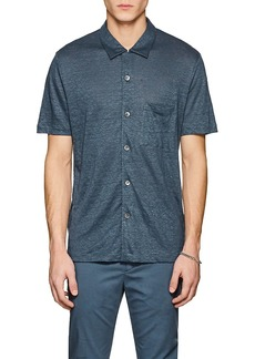Theory Men's Slub Linen Shirt