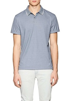 Theory Men's Standard Cotton-Blend Piqué Polo Shirt