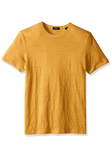 Theory Men's Storm Linen Essential Tee  L