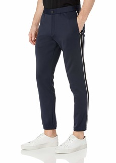 Theory Men's Stretch Cotton Track Pant  M