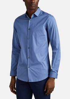Theory Men's Sylvain Cotton-Blend Shirt