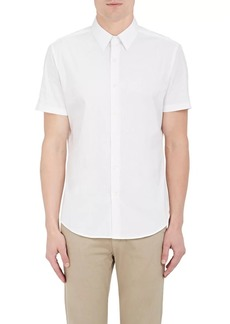 Theory Men's Sylvain Cotton Poplin Shirt