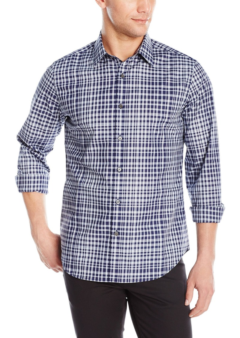 Theory Theory Men 39 S Sylvain Inkster Long Sleeve Button