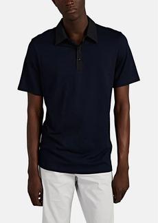 Theory Men's Tech Cotton-Piqué Polo Shirt