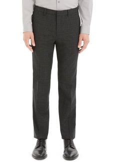 Theory Men's Thurlow-Print Mayer Check Suit Pants